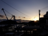 The evening landscape in Onomichi #002